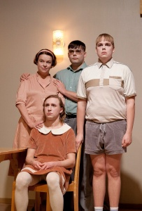 He ovat ihan tavallinen perhe. (Kuva: Pate Pesonius)